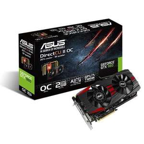 Carte graphique Asus GTX960 DC2OC 2Go DDR5 Black