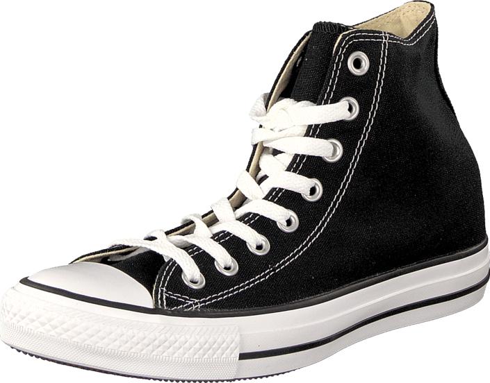 Chaussures Chuck Taylor All Star Hi Canvas Black (footway.fr)