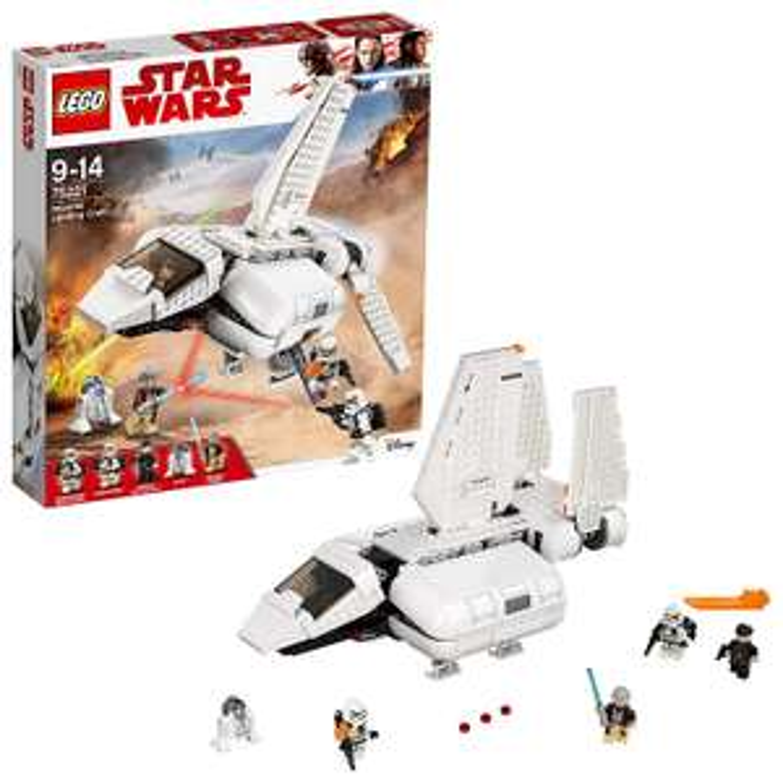 Sélection de jeux de construction Lego Star Wars en promotion - Ex : L'Imperial Landing Craft LEGO Star Wars 75221