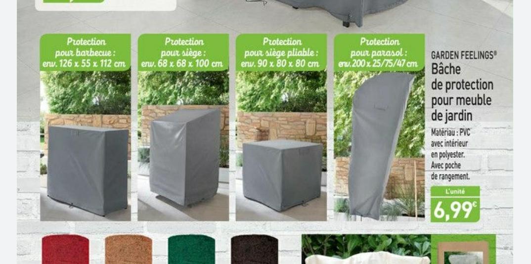 Selection de Bâche de protection pour meubles de jardin