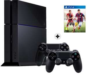 Console Sony PlayStation PS4 500Go + 2 manettes + Fifa 15