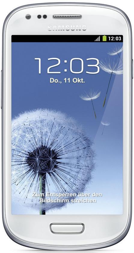"Smartphone 4"" Samsung Galaxy S3 mini - Dual-Core 1GHz - 1Go de ram  - 5 Mpix - Android (occasion / retour client)"
