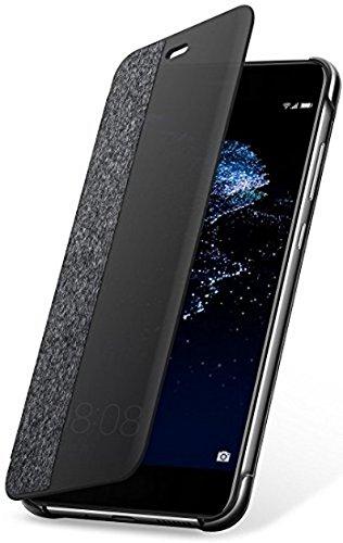 [Panier Plus] Housse Officielle Huawei P10 Lite Smart View Flip – Gris foncé