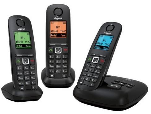 Téléphones fixe Sans fil Gigaset A540A - Trio (via 15€ ODR)