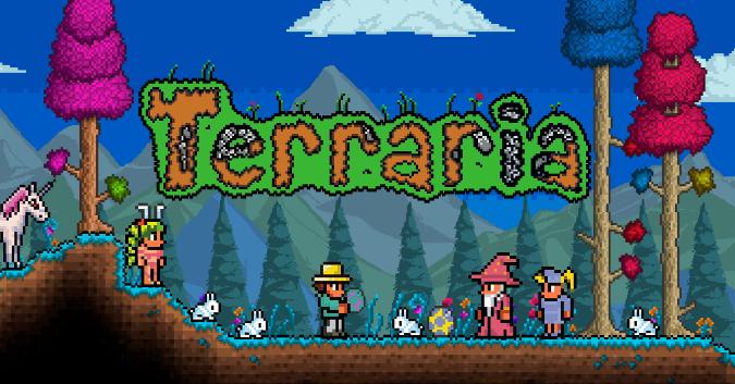 Jeu Terraria sur PC (Dématérialisé)