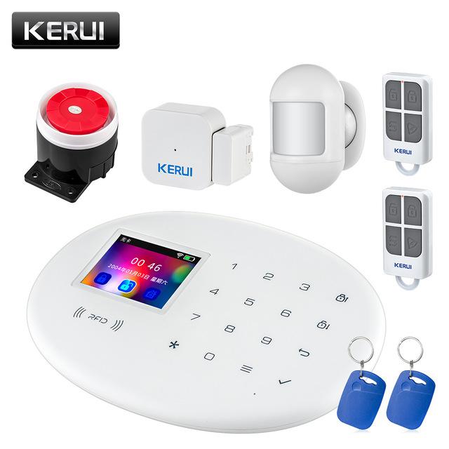 Alarme KERUI W20 - WIFI/GSM