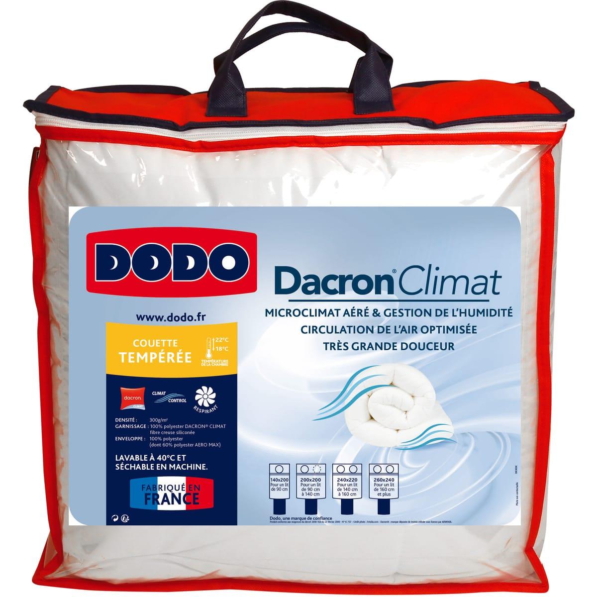 Sélection de produits Dodo en promotion - Ex : Couette Dodo climat control - 200x200cm