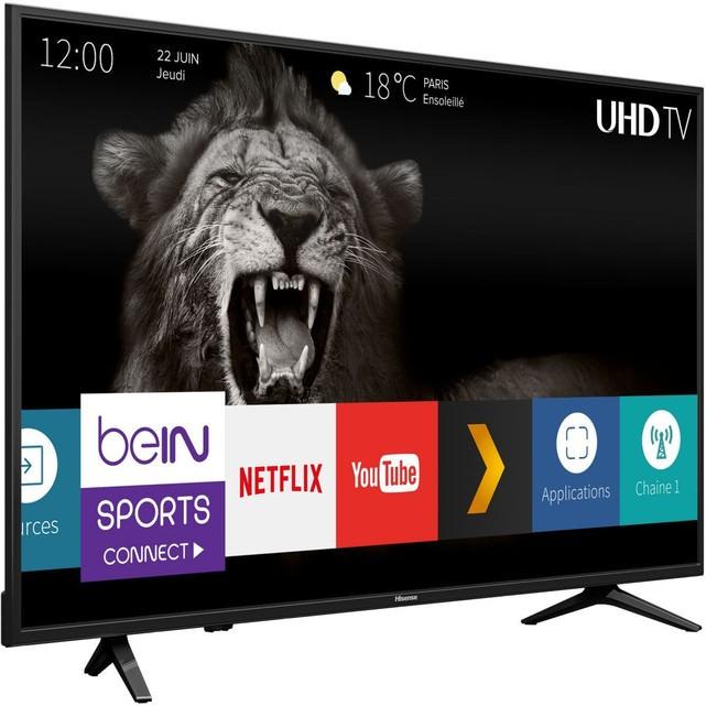 """TV LED 50"""" Hisense H50A6100 - 4K UHD, Smart TV"""