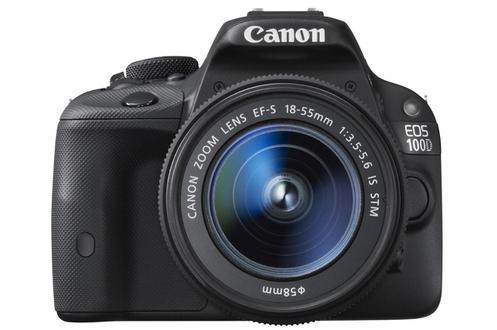Appareil photo reflex Canon Eos 100D + 18-55 IS STM (avec 50€ d'ODR)