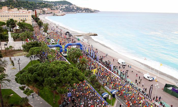 Inscription pour le Marathon  de Nice le 8 Novembre 2015