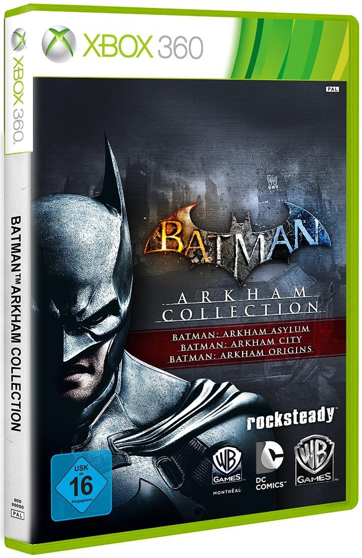 Batman Arkham Collection sur Xbox 360 et PS3 (3 jeux Batman)