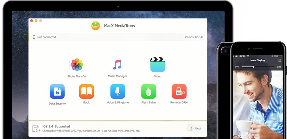 Licence gratuite pour le logiciel MediaTrans sur Mac