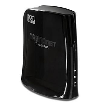 Adaptateur multimédia TRENDnet TEW-687GA WiFi N 450 Mbps 3T3R