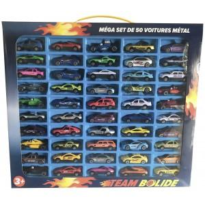 Lot de 50 voitures métalliques - Amneville (57)