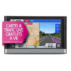 GPS Garmin Nuvi 2567LM SE avec carte 15 pays & Trafic Live gratuits à vie
