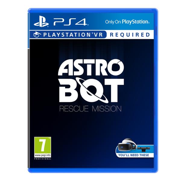 Jeu Astrobot Rescue Mission sur PS4 (PSVR)