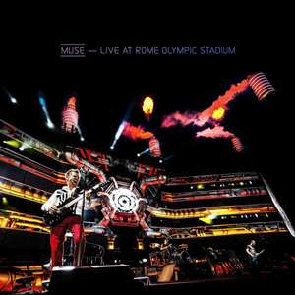 CD + Blu-ray : Muse Live At Rome Olympic Stadium - (Filmé en 4K)