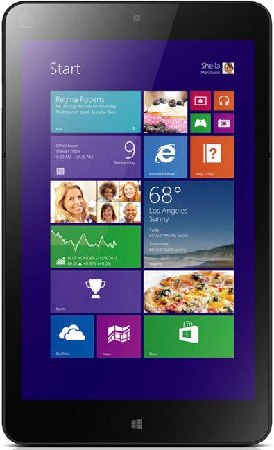"Tablette 8.3"" Lenovo ThinkPad 8 (Intel Core Z3770 1,46GHz, 2Go RAM, 64Go SSD, Win 8.1)"