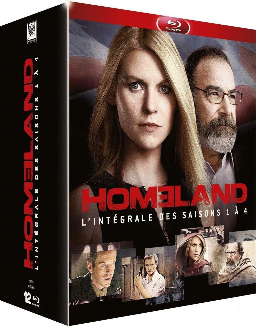 Coffret 12 Blu-ray Homeland - L'intégrale des Saisons 1 à 4