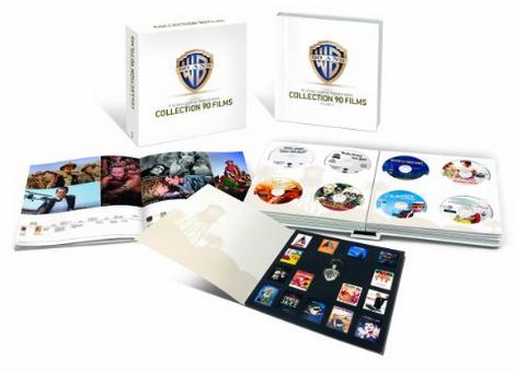 Coffret 50 Blu-ray - 90 ans Warner - Le meilleur de Warner Bros -  Édition Limitée