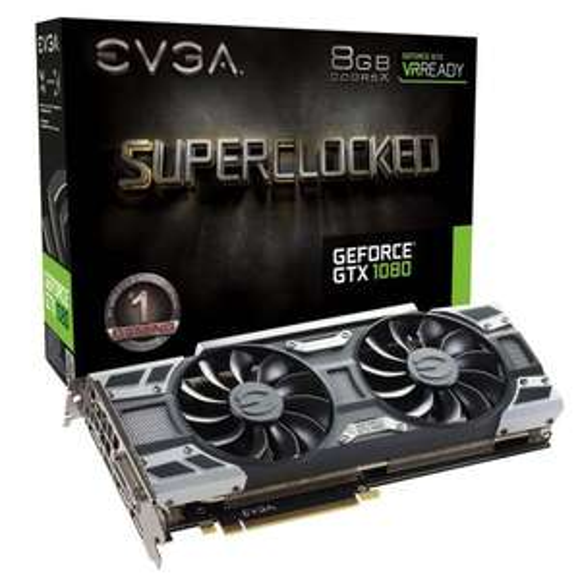 Carte Graphique EVGA GeForce GTX 1080 SC Gaming – 8 Go GDDR5X