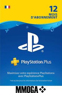 Abonnement Playstation Plus - 12 mois (Dématérialisé - Mmoga)