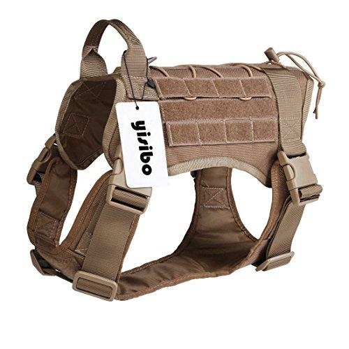 Harnais pour chien style militaire Yisibo (vendeur tiers)