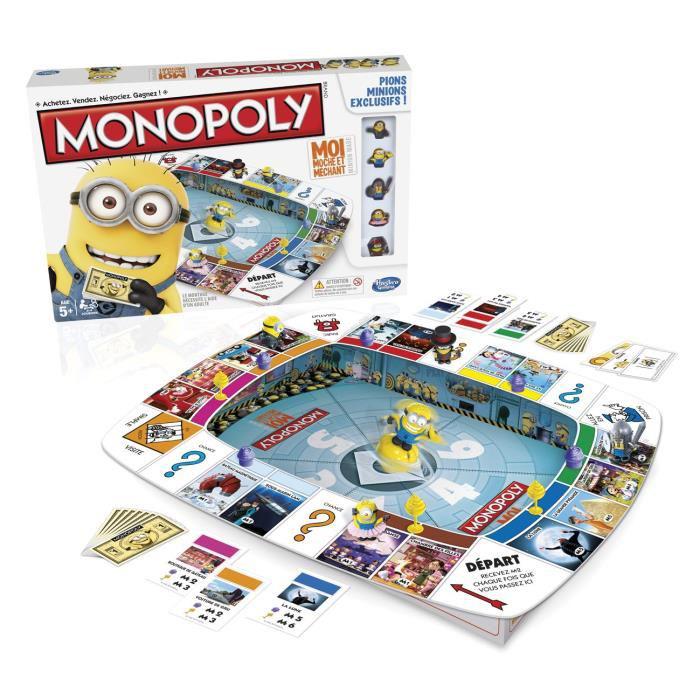 Jeu de Société Monopoly Minions Hasbro (ODR de 50%)