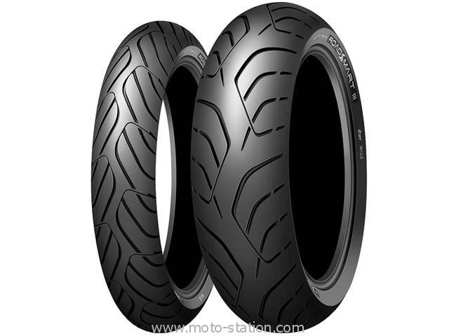 Pneus Dunlop Roadsmart 3 120/70 + 180/70 ZR17 (via ODR de 40€)