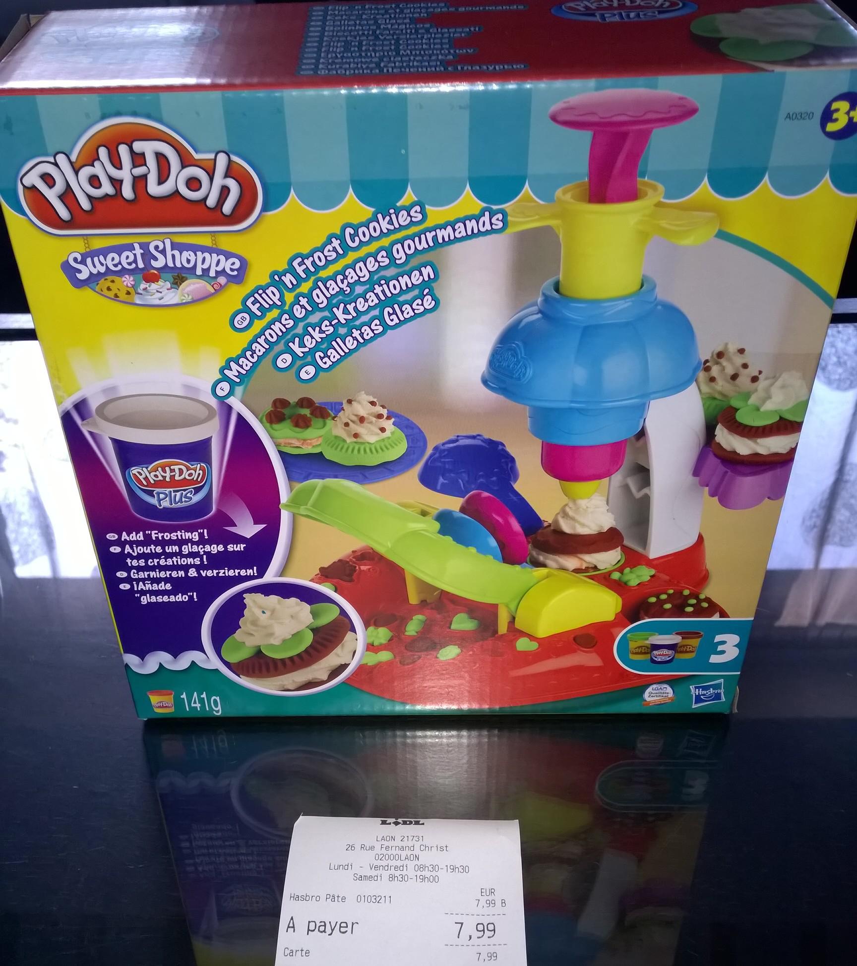 Kit de macarons et de glacages Hasbro Play Doh