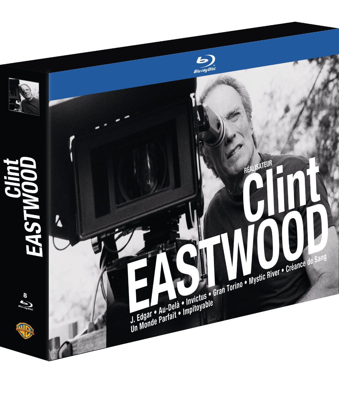 Coffret 8 Blu-ray Clint Eastwood