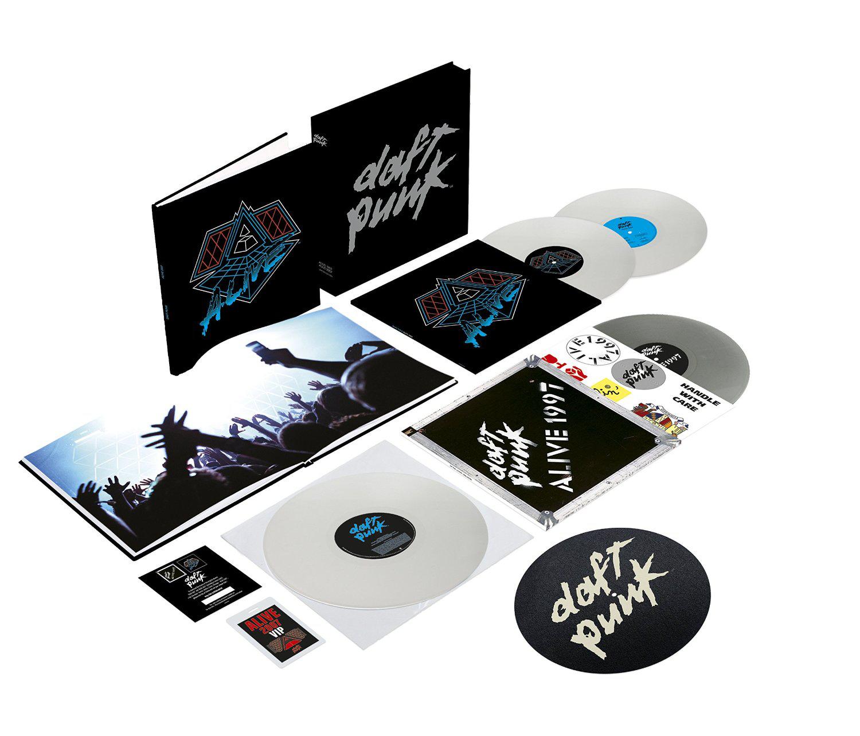 Coffret vinyle collector Daft Punk - Alive 1997 / Alive 2007