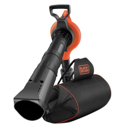 Aspirateur souffleur broyeur Black+Decker - 3000W (via ODR de 20€)