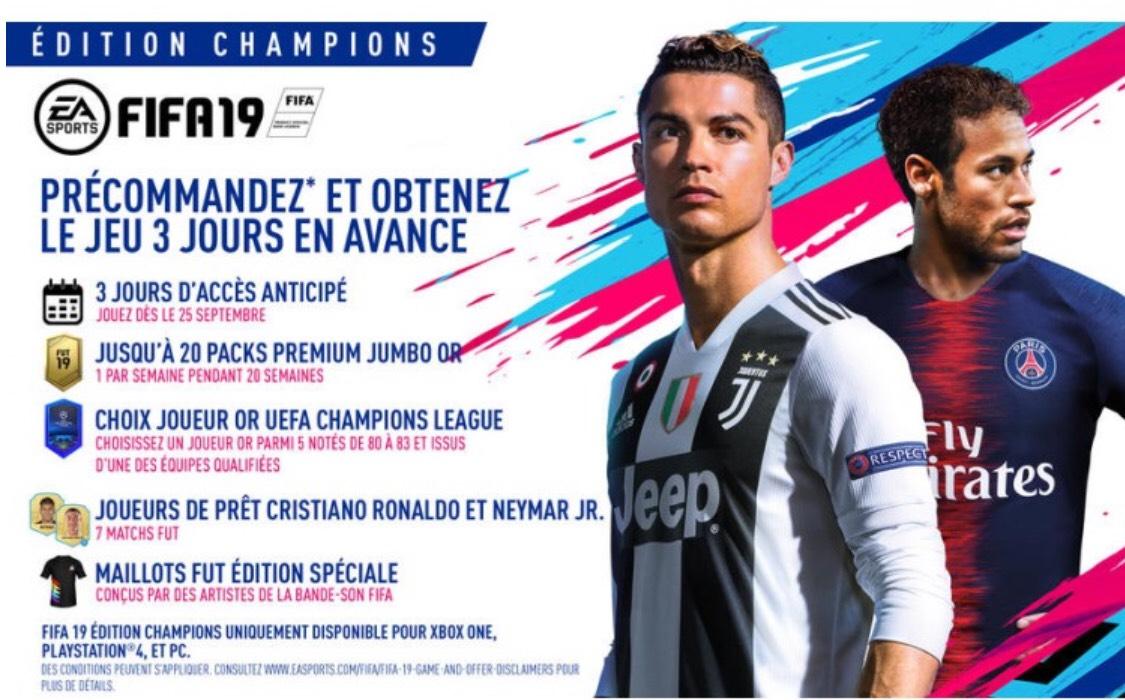 DLC FIFA 19 - Édition champion League (Dématérialisé)
