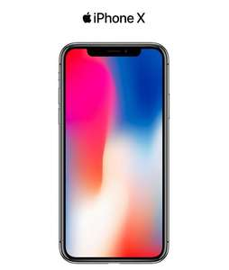 "Smartphone 5.8"" Apple iPhone X - 64 Go, Gris (+ 131.85€ en SuperPoints)"