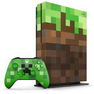 Pack console Microsoft Xbox One S - Édition Limitée Minecraft, 1 To (+19.9€ en SuperPoints)