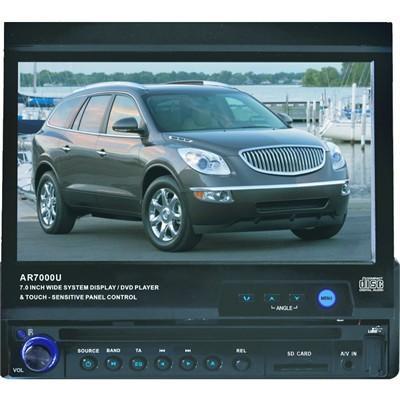 "Autoradio multimédia AR7000U avec écran rétractable et tactile 7"""