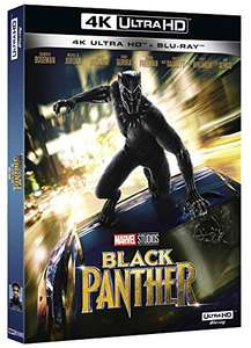 Black Panther [4K Ultra HD + Blu-ray]