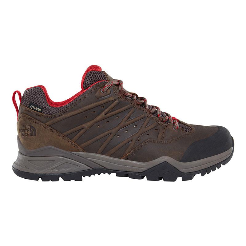 Chaussures Randonnée The North Face Hedgehog Hike II GTX marron rouge (Plusieurs tailles disponibles à partir du 40,5)