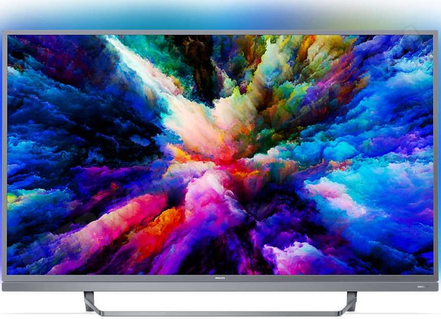 "TV 55"" Philips 55PUS 7503 - 4K UHD, LED, Dalle VA 10 bits 1700 PPi, Android TV"