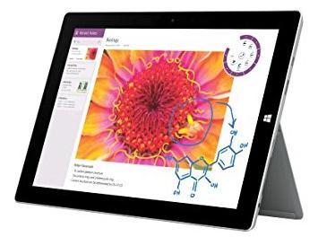"""15% de réduction sur les Tablettes Microsoft surface pro 3 & surface 3 - Ex: Microsoft Surface 3 10.8"""" - 64 Go"""