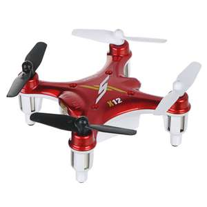 Quadcopter Syma X12 2.4GHz 4 Channel 6 - axis Gyroscope - LED 360°
