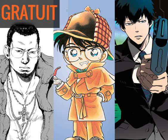 Sélection de manga en promotion - Ex: Psycho-Pass Inspecteur Shinya Kôgami, ... (3 tomes gratuits dématérialisés)