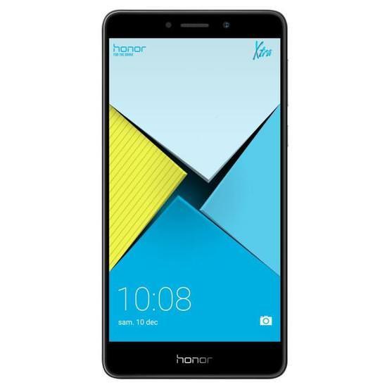 """Smartphone 5.5"""" Honor 6X - Full HD, Kirin 655, 3 Go RAM, 32 Go - Gris (Géant Casino Cité 2 - Carcassonne 11 - Fréjus 83)"""