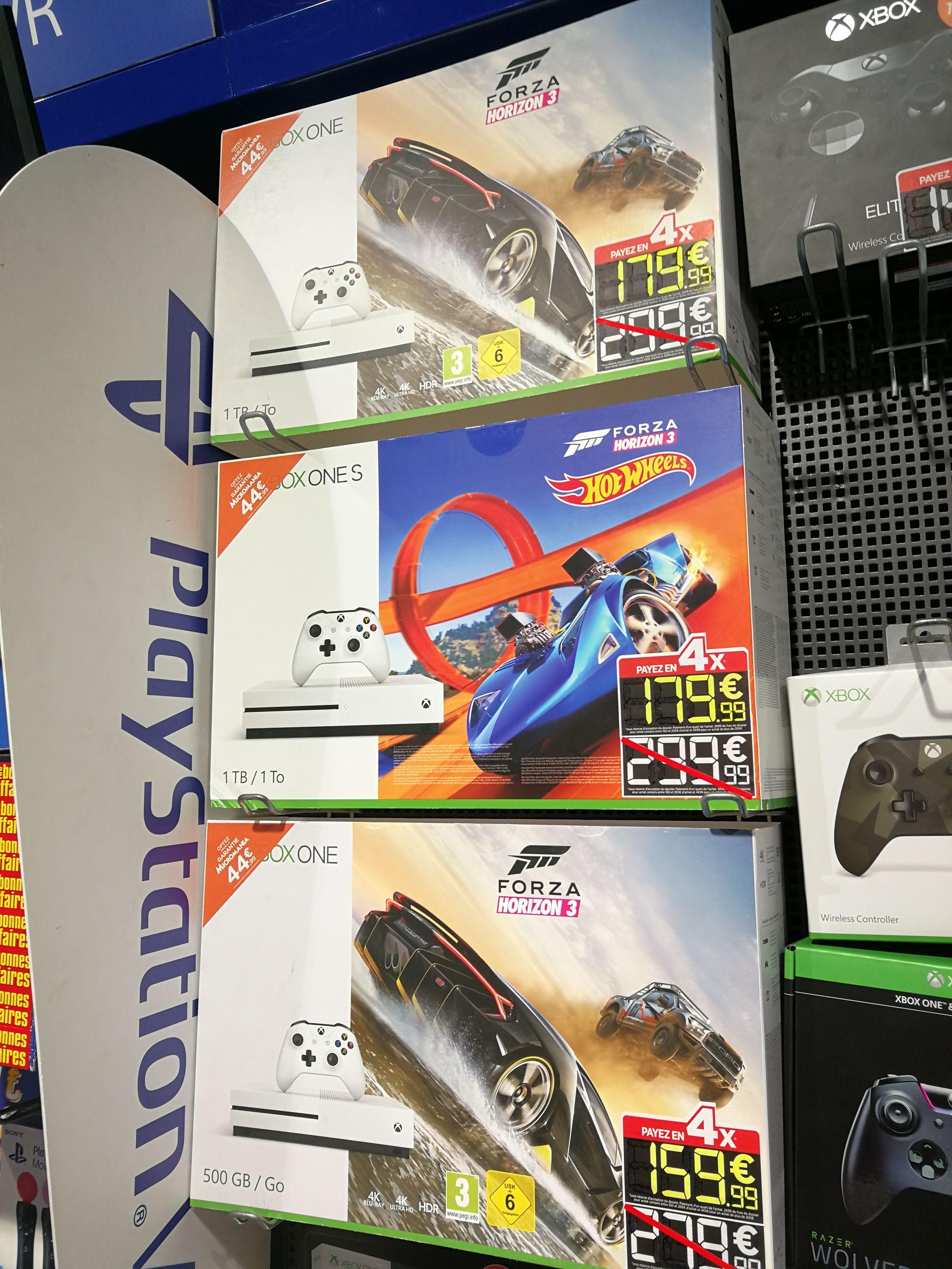Sélection de Packs Xbox One en Promotion - Ex : Xbox One Fat 500Go