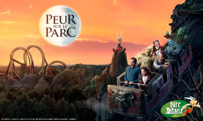 Billet Adulte et Enfants d'un jour pour le Parc Astérix (dates spécifiques) en promotion - Ex : Billet 1 Jour Adulte