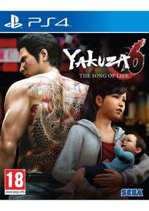 Yakuza 6: The Song of Life sur PS4
