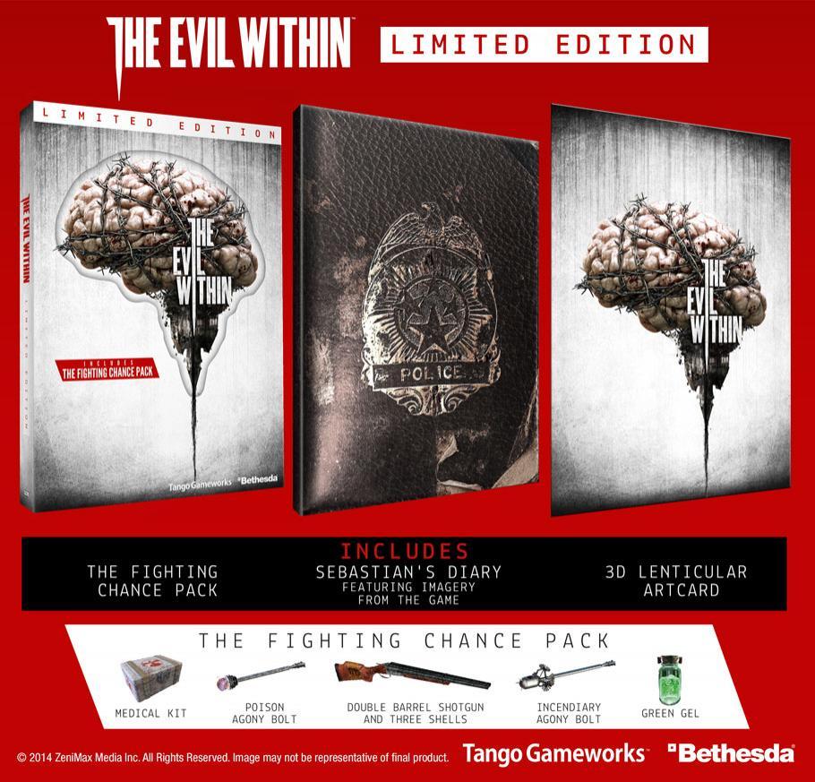 Jeu The Evil Within edition limitée sur PC