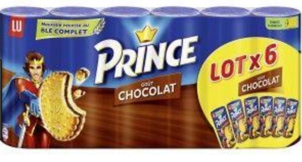 Selection de produits en promotion - Ex : Lot 6 x 300 g de biscuits LU Prince (via 4,34 € sur la carte de fidélité)
