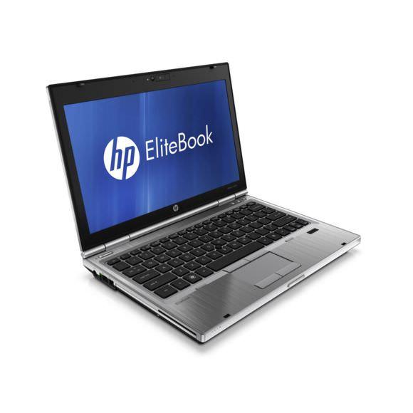 """PC Portable 12,4"""" HP EliteBook 2560p - i5 2540M, RAM 4Go, SSD 160 Go, 1366x768 pixels, Windows 7 Pro (Reconditionné)"""